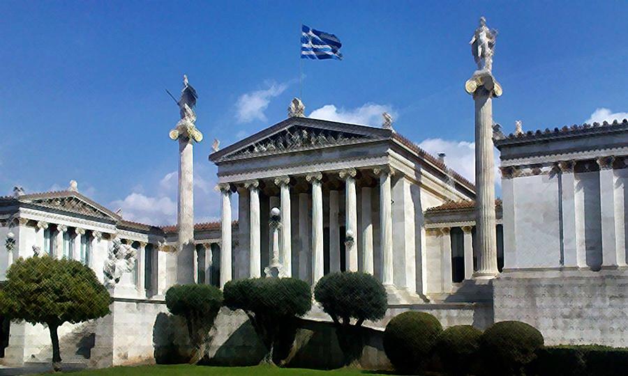 2019 αρχιτεκτονικός πλούτος Αθηνών Ακαδημία.